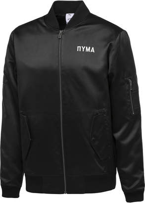 PUMA x OUTLAW MOSCOW Zip-Up Men's Bomber Jacket