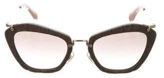 Miu Miu Butterfly Shaped Sunglasses w/ Tags