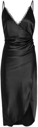 Jonathan Simkhai Night Night By Lace-Trimmed Midi Slip Dress