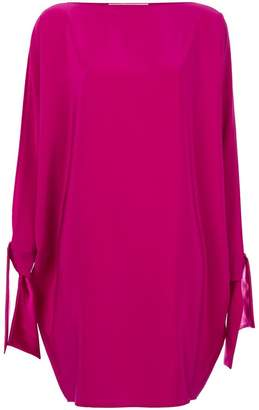 Gianluca Capannolo open sleeve mini dress