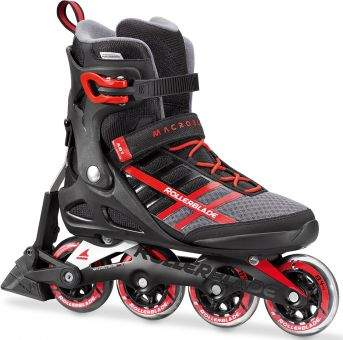 MACROBLADE 84 ABT Inline Skate 2018 black/red