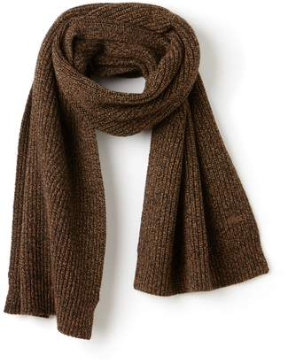 Lacoste Women's Ribbed Mouline Wool Scarf