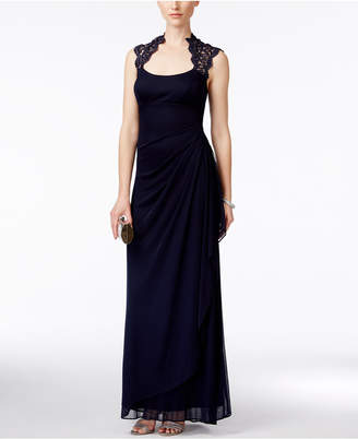 f1e16423bdaa8 Xscape Evenings Black Illusion Neckline Dresses - ShopStyle Australia