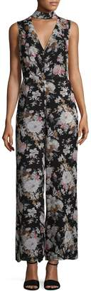 Lucca Couture Women's Mackenzie Floral Jumpsuit