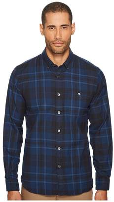 Todd Snyder Point Collar Plaid Flannel Shirt
