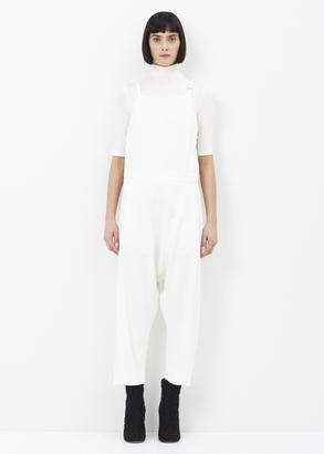 Rachel Comey white alcott jumpsuit $494 thestylecure.com