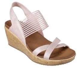 Skechers Beverlee-High Tea Wedge Sandals