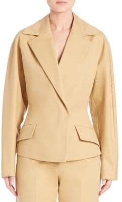 The Row Lara Stretch-Cotton Jacket