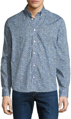 Kenzo Men's Animal-Print Casual-Fit Sport Shirt