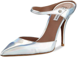 Tabitha Simmons Allie Holographic Slide Mules