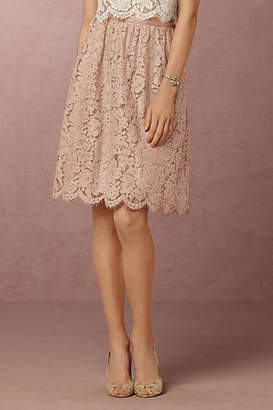 Anthropologie Lydia Lace Skirt $200 thestylecure.com