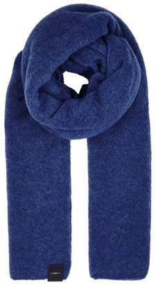 High Frosty Dark Blue Wool