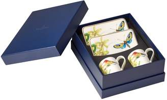 Villeroy & Boch Amazonia Espresso Set (Set of 2 Cups and Saucers)