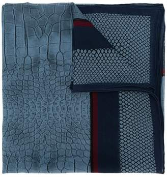Roberto Cavalli (ロベルト カヴァリ) - Roberto Cavalli animal print scarf