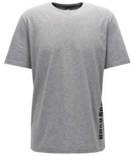 BOSS Hugo Logo-Print Jersey T-Shirt Identity T-Shirt RN M Grey
