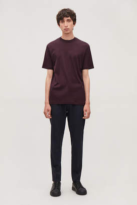 Cos T-SHIRT WITH RAISED NECK