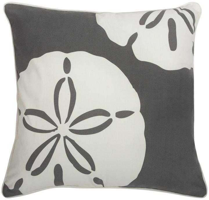 Thomaspaul - Sand Dollar Charcoal Outdoor Pillow