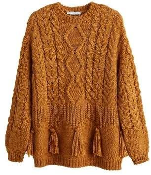 MANGO Chunky-knit sweater