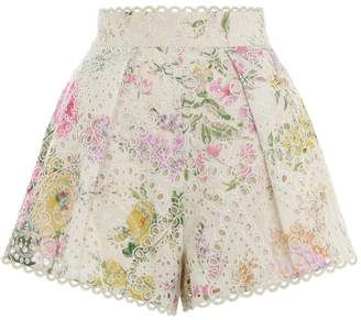 Zimmermann Heathers High Waist Short