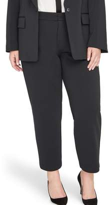 Rachel Roy Collection High Rise Twill Crop Pants