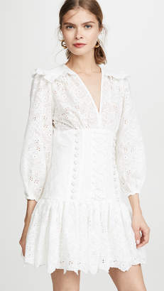 Zimmermann Honour Corset Lace Dress