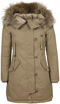 ADD Fur Trimmed Coat