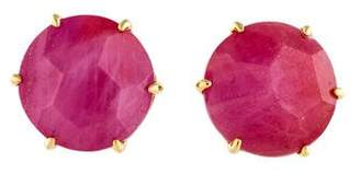 Ippolita 18K Composite Ruby Stud Earrings