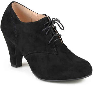be8aec8b5d76 Journee Collection Black Suede Upper Women s Boots - ShopStyle