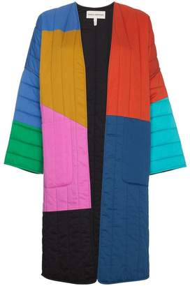 Mara Hoffman Multicoloured reversible temple coat