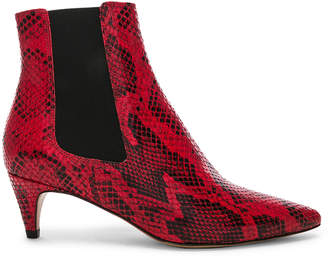 Isabel Marant Detty Booties in Red | FWRD