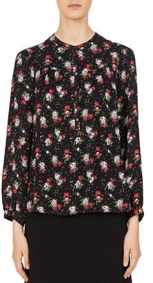 Gerard Darel Leann Floral-Print Top