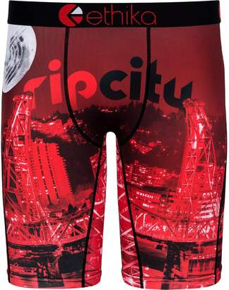 Ethika Unbranded Men's for Fanatics Red Portland Trail Blazers Baller Boxer Brief