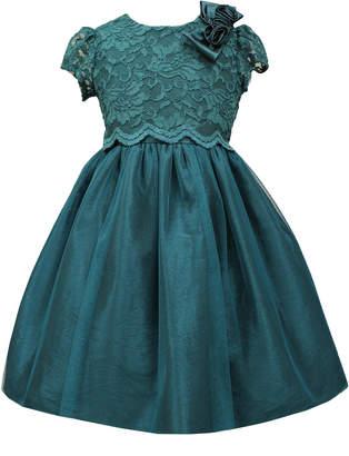 Sorbet Lace A-Line Dress, Teal, 2T-6X