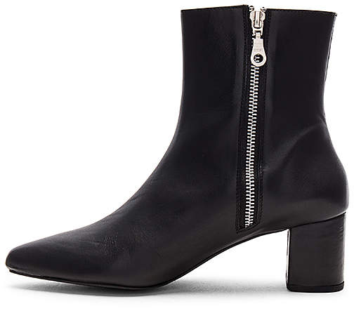 The Archive The Madison Leather Boot in Black 4