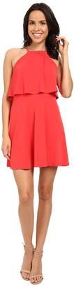 Jessica Simpson Solid Pop Over Dress JS6D8646 Women's Dress