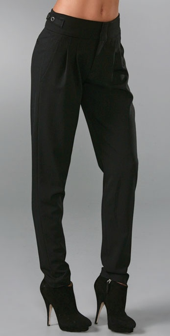 Vince Carrot Shape Trousers