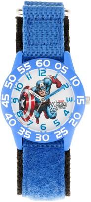 Marvel Avengers Assemble Captain America Kids' Time Teacher Watch