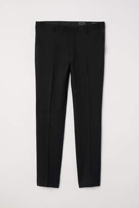 H&M Tuxedo Pants Skinny fit - Black