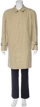 Burberry Nova Check Lined Trench Coat