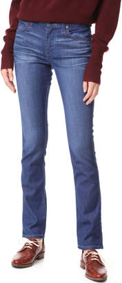 James Jeans Slim Pencil Mid Rise Cigarette Jeans