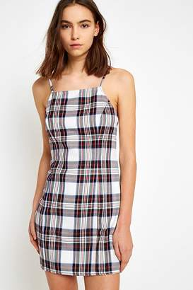 Urban Renewal Vintage Remnants Checked Slip Dress