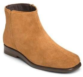 Aerosoles Double Trouble 2 Suede Ankle Booties
