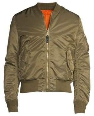 Alpha Industries Nylon Flight Jacket