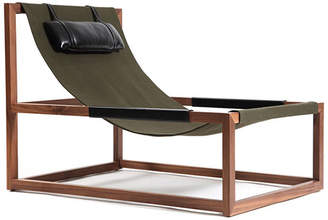 Mercer Project MARE Walnut & Black Leather Chair