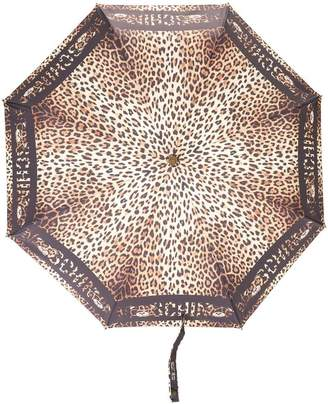 Moschino leopard-print umbrella