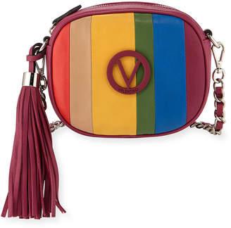 Mario Valentino Valentino By Nina Rainbow Leather Crossbody Bag