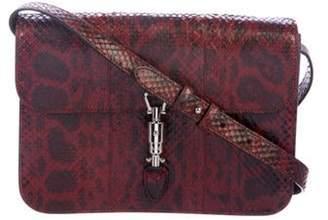 Gucci Python Jackie Shoulder Bag black Python Jackie Shoulder Bag