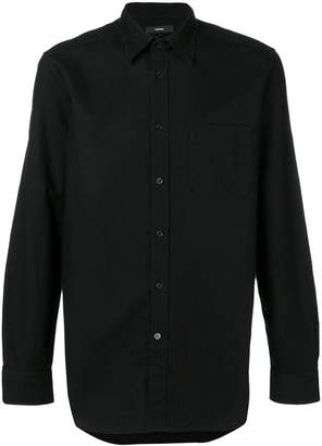 Diesel long-sleeve fitted shirt