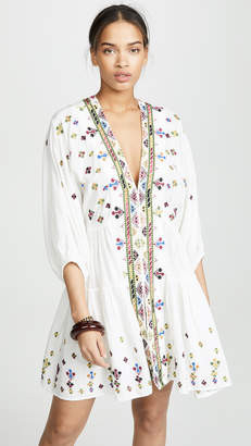 Free People Light It Up Embroidered Tunic