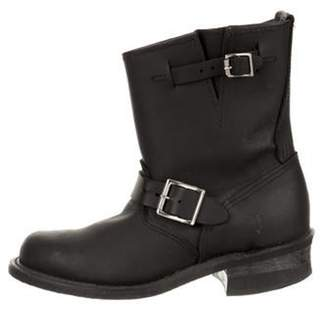 Frye Leather Ankle Boots Black Leather Ankle Boots